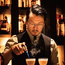 後閑信吾さんがつくる アメリカンウイスキーカクテル